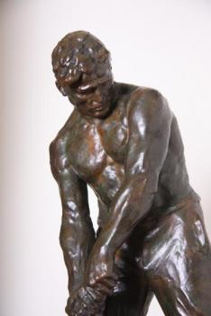Sculpture - bronze - V. DEMANET - 1934