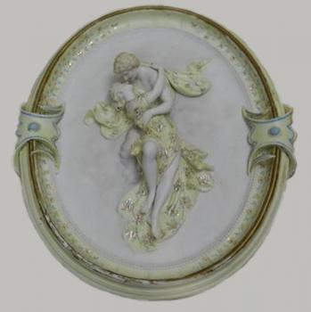 Relief - white porcelain - 1900